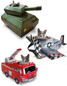 Katzen spielhaus