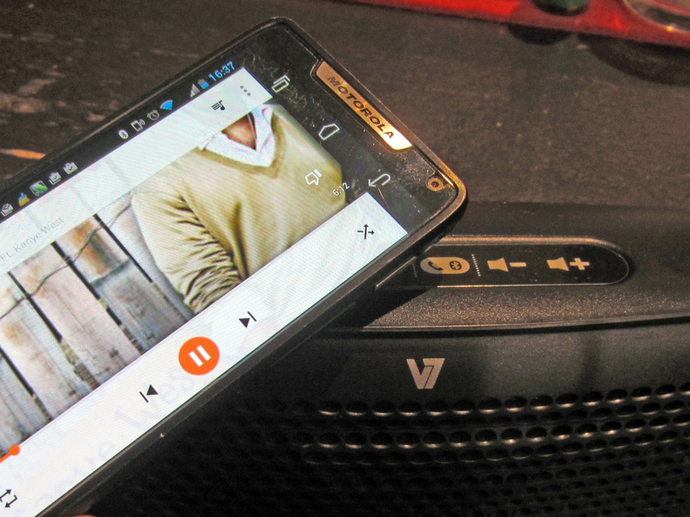 Im Test: V7 Bluetooth Headset & Bluetooth Lautsprecher mit Powerbank 1