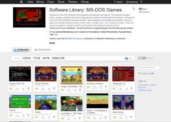 Über 2400 DOS-Spiele online spielbar 5