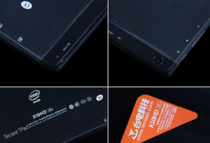 Rueckseite des Teclast X10HD 3G