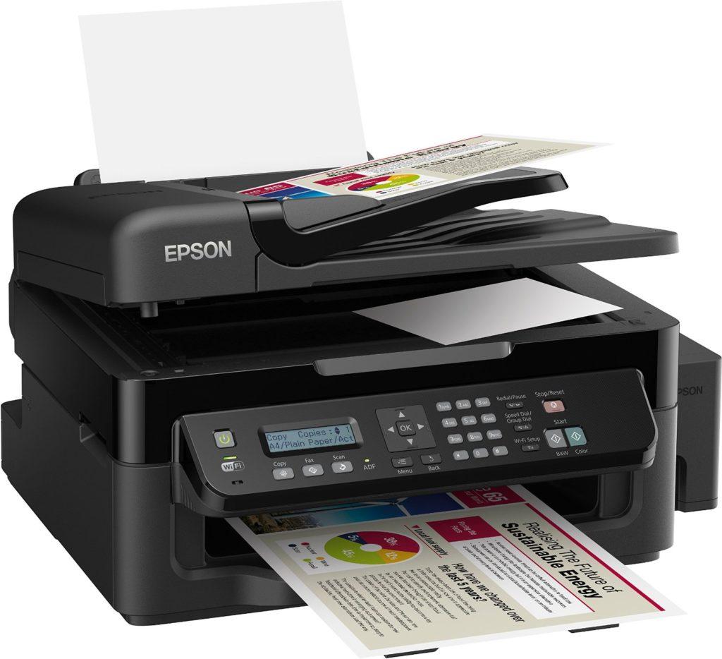 Neue Epson Drucker mit Tintentanks 1