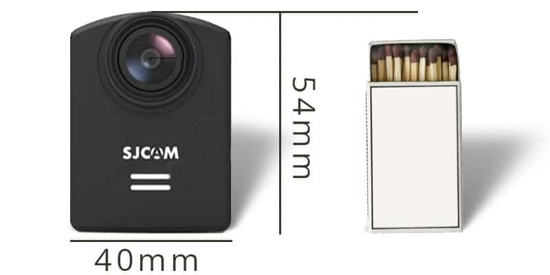 Größenvergleich SJCAM M20