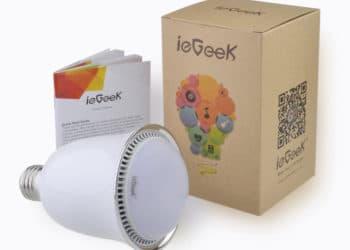 ieGeek Bluetooth Lampe mit App und Farbwechsel 1