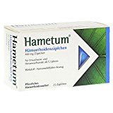 HAMETUM HAEMORRHOIDEN Suppositorien 25St SPITZNER ARZNEIMITTEL 7619576