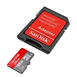 SanDisk Mobile Ultra microSDHC 32GB UHS-I Class 10 Speicherkarte + SD-Adapter + Memory Zone Android App bis zu