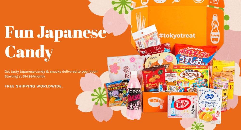 Erfahrung mit der Tokyo Treat Box