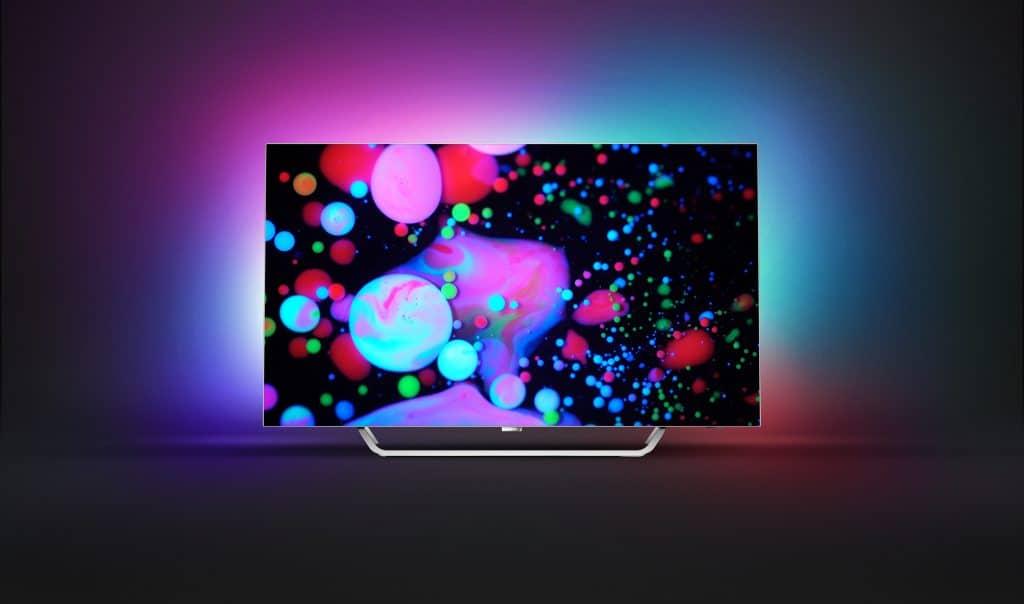 Ganz schön bunt: Neuer OLED HighEnd-TV mit Ambilight Philips 9002 1
