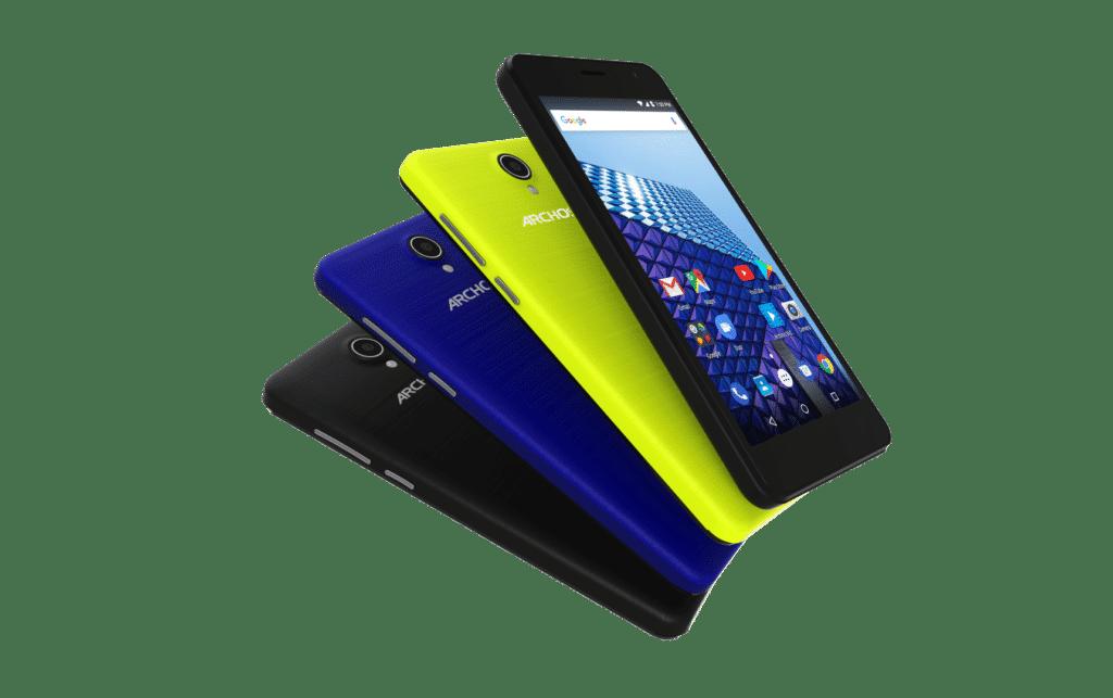 """Neue günstige Smartphones - Archos """"Core"""" und """"Access"""" 1"""