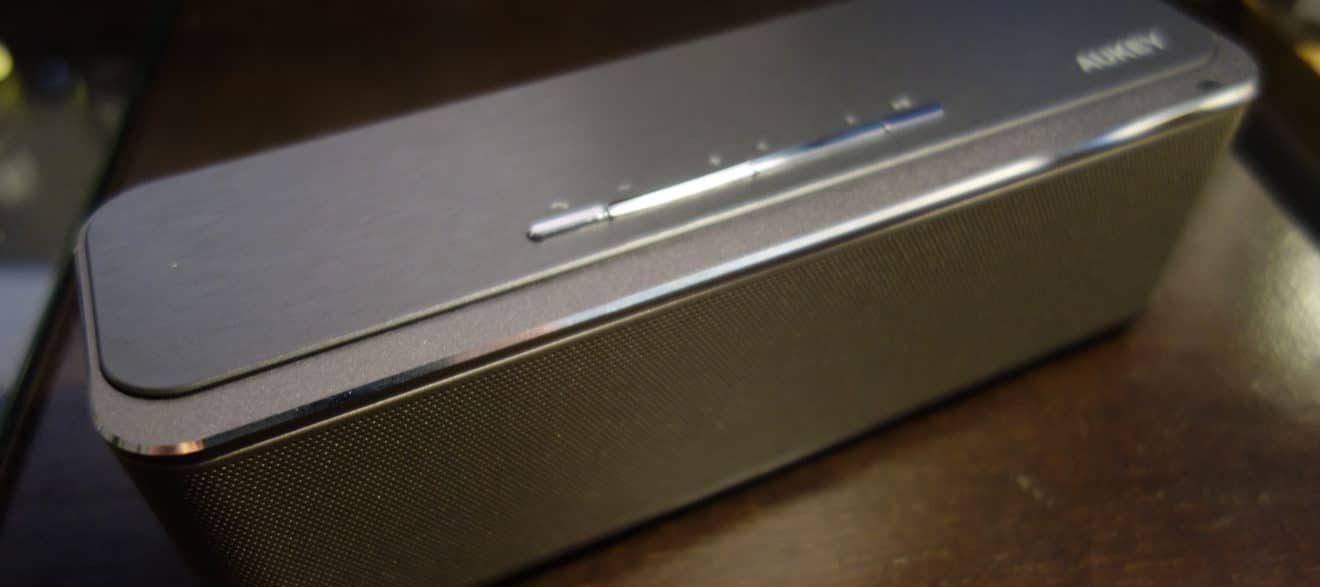 Bass satt: Aukey Bluetooth Lautsprecher im Test 2