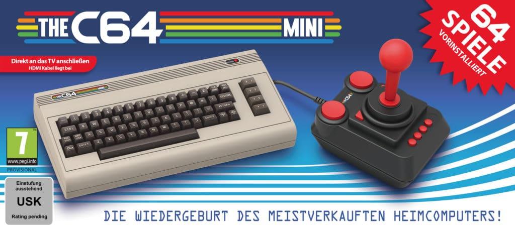 C64 Mini: Rückkehr des kultigen Brotkasten aus den 80ern 1