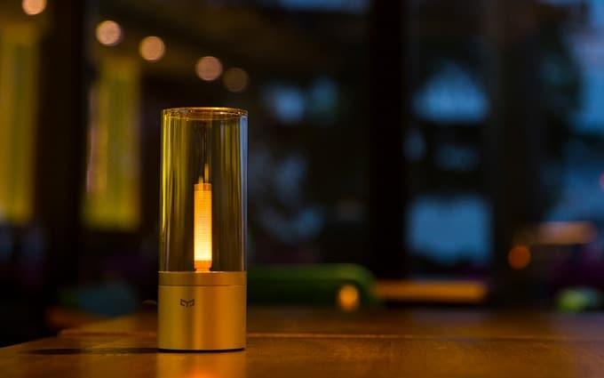 Yeelight Candela - Smarte Leuchte mit Kerzeneffekt 1