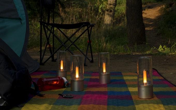 Yeelight Candela - Smarte Leuchte mit Kerzeneffekt 2