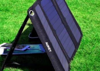 USB Solar Ladegerät & Steckdosenleiste - Neu von Aukey 10