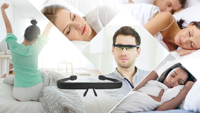 Pegasis Smart Sleep Glasses II - Die smarte Einschlafhilfe 1