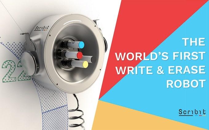 Dieser Roboter bemalt Deine Wände - Scribit 1