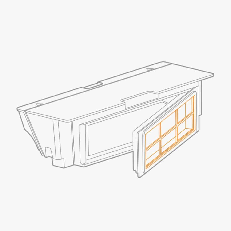 Xiaomi Staubsaugerroboter HEPA-Filter