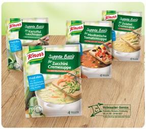 Selbstversuch: Knorr Suppen Basis mit Gewinnspiel 1