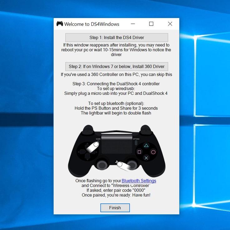 Wie nutze ich den PS4 DualShock 4 Controller am PC? 4