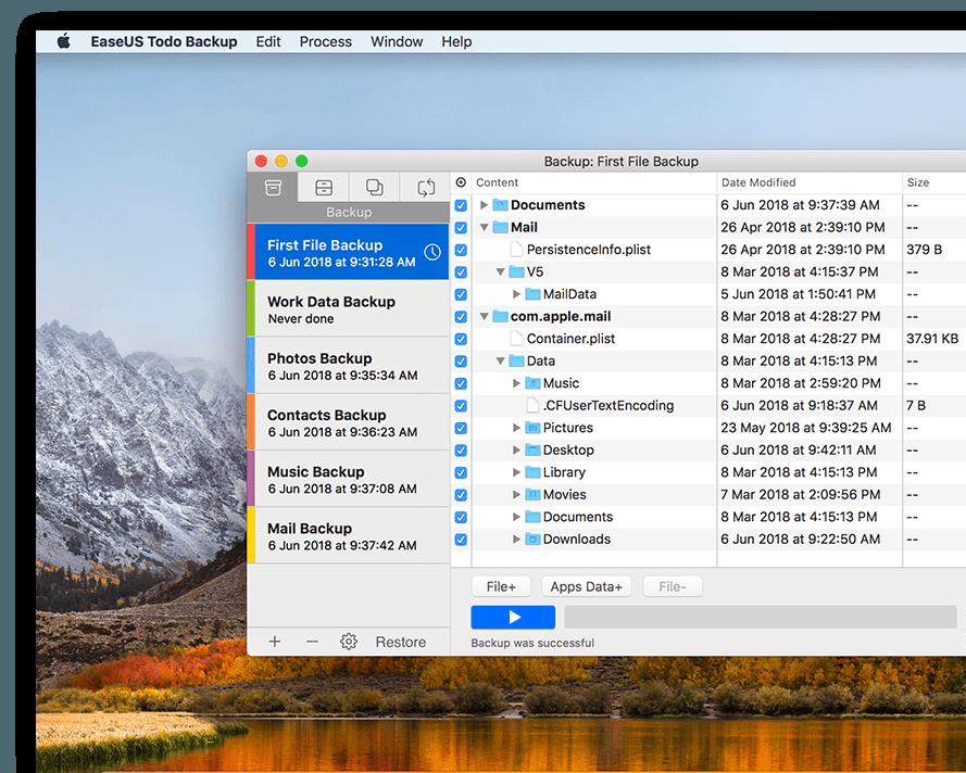 Ausprobiert: EaseUS Todo Backup - einfaches & schnelles Backup für Mac und Windows 2