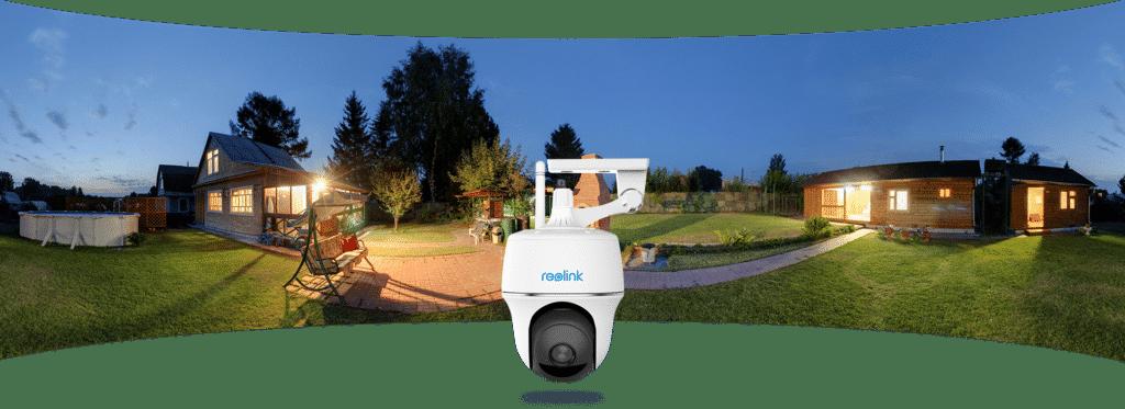 Neu: Schwenkbare Überwachungskamera mit Solarpanel - Argus PT von Reolink 1