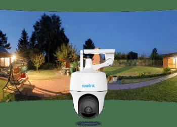 Neu: Schwenkbare Überwachungskamera mit Solarpanel - Argus PT von Reolink 3