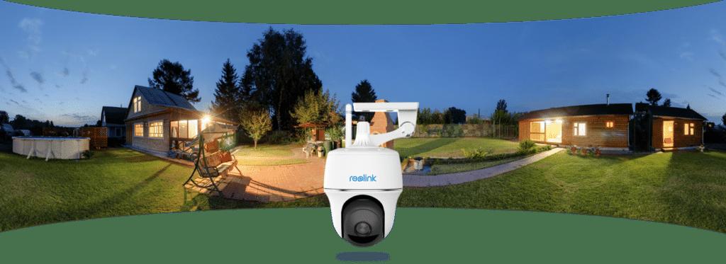 Neu: Schwenkbare Überwachungskamera mit Solarpanel - Argus PT von Reolink 4