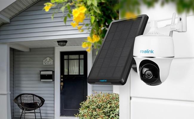 Neu: Schwenkbare Überwachungskamera mit Solarpanel - Argus PT von Reolink 2