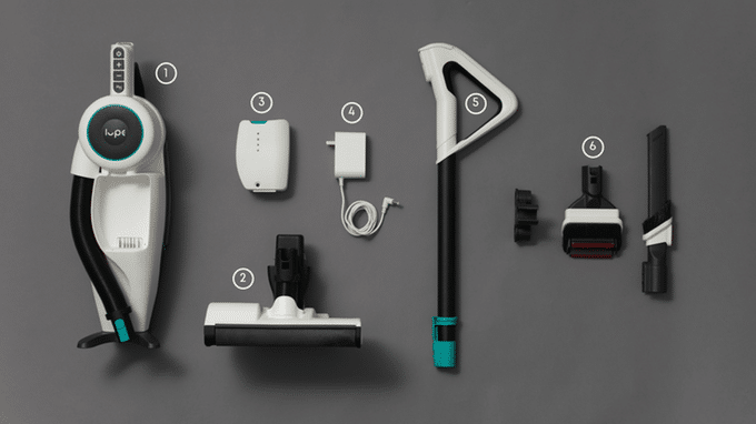Lupe Cordless - Starker Dyson-Konkurrent auf Kickstarter 5