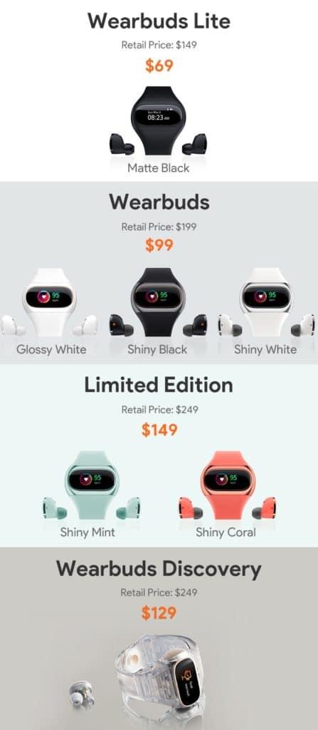 Wearbuds - Smartwatch und kabellose Kopfhörer in einem? 3
