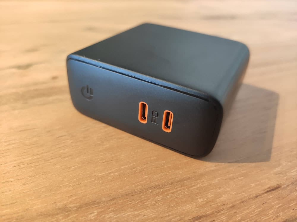 Kurztest: Aukey  USB-C Ladegerät mit 60W 1
