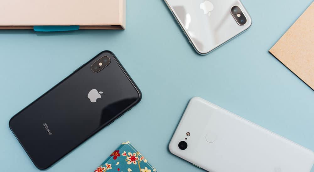 iPhone Bildschirm flackert oder friert ein