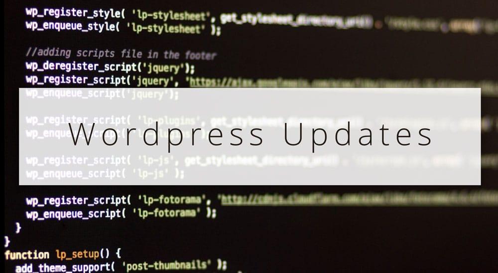 Automatische Wordpress Updates