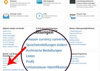 Amazon Profil Link - Direkt zum anklicken 3