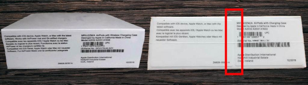 Original Apple Airpods 2 & Pro und Fakes erkennen 2