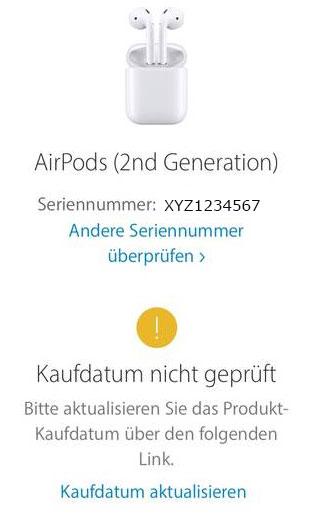 Original Apple Airpods 2 & Pro und Fakes erkennen 5