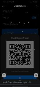 WLAN Passwort anzeigen aus einem QR-Code