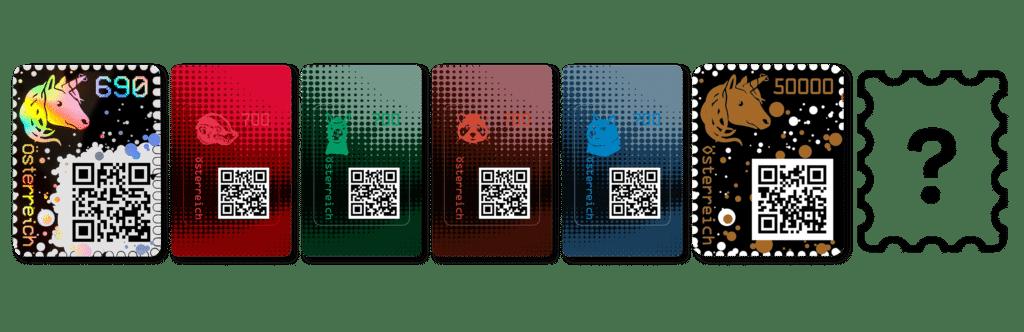 Krypto-Briefmarken aus Österreich - Bereits in der dritten Auflage 2