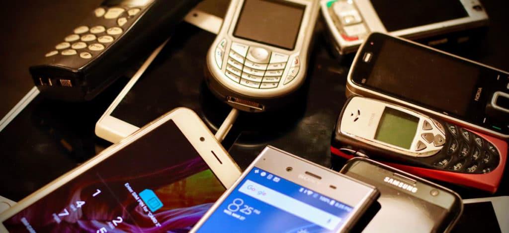 Wie haben sich Handys in fast 40 Jahren geändert 1