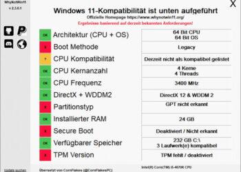 Kann Euer PC Windows 11 installieren? So findet Ihr es heraus. 2