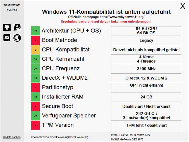 Kann Euer PC Windows 11 installieren? So findet Ihr es heraus. 1